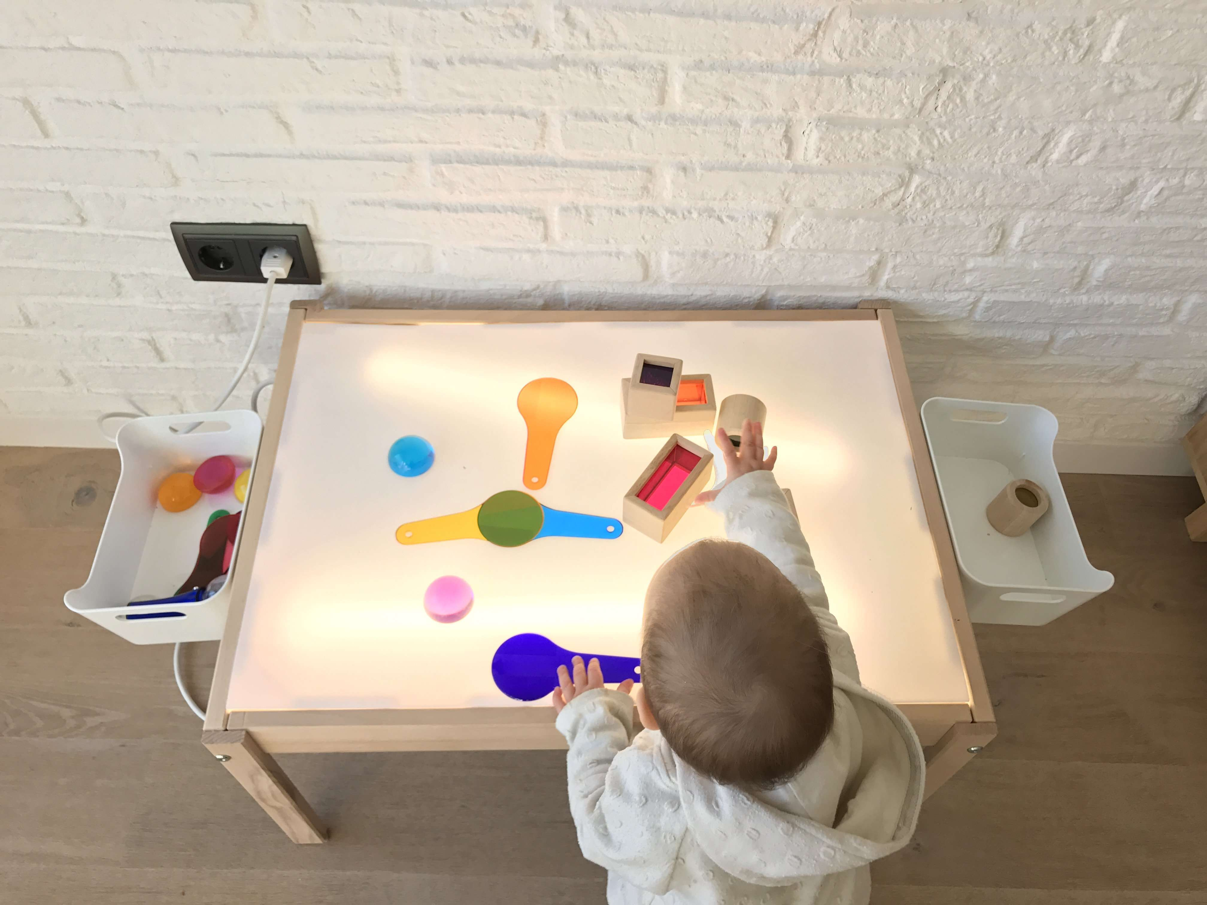DIY: mesa de luz – estoreta – Family, Craft & Deco